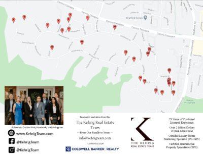 Wood Ranch - Meridian Hills Neighborhood Garage Sale Map 2021