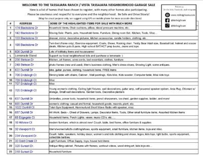 Tassajara-Ranch-Vista-Tassajra-Neighborhood-Garage-Sale-Home-List